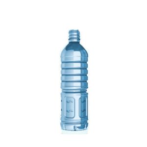 botellas de vidrio cilíndricas